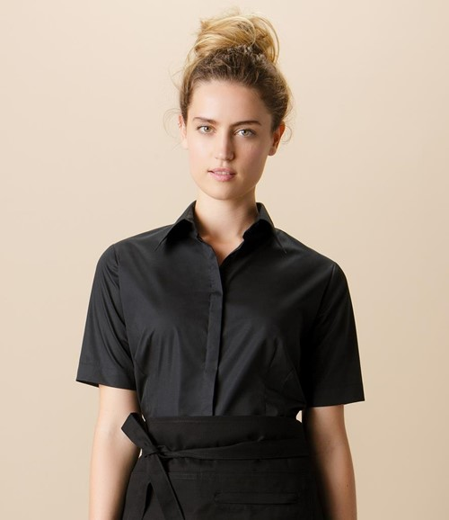 Ladies Short Sleeve Tailored Shirt
