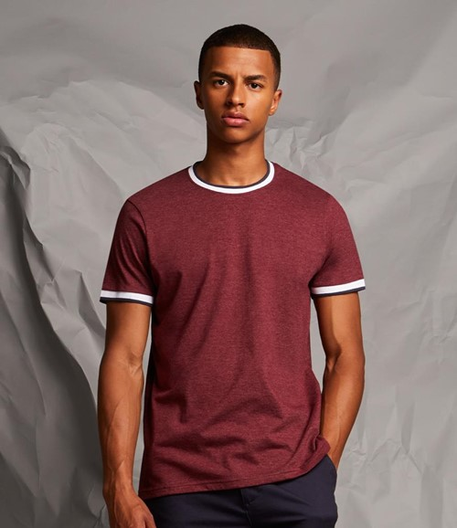 Contrast Tipped T-Shirt