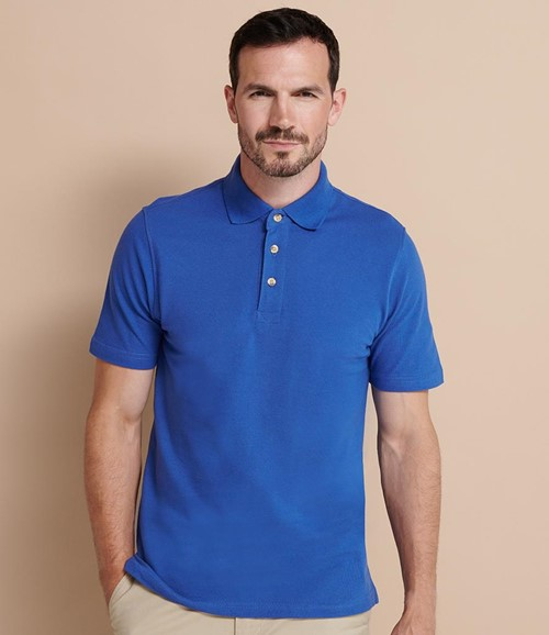 Classic Heavy Cotton Piqué Polo Shirt