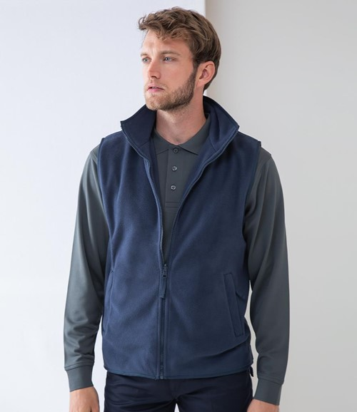 Sleeveless Micro Fleece Jacket