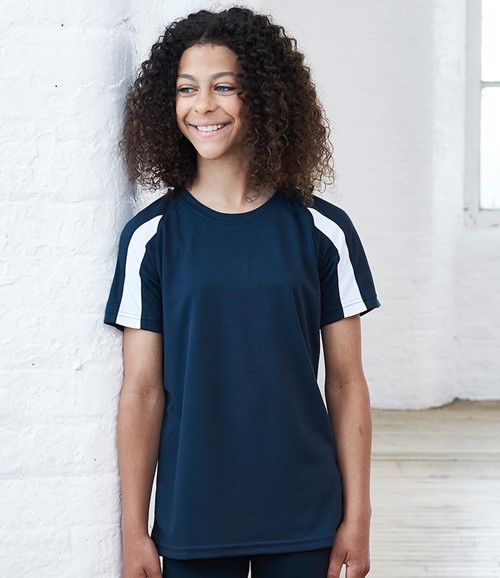 AWDis Kids Cool Contrast T-Shirt