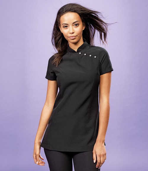 Ladies Mika Short Sleeve Tunic