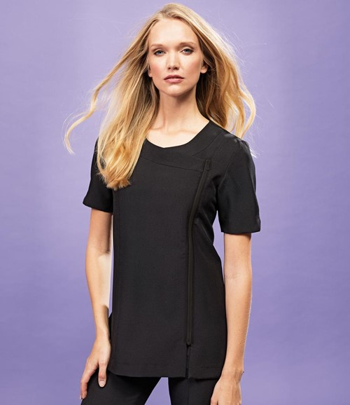 Ladies Camellia Short Sleeve Tunic