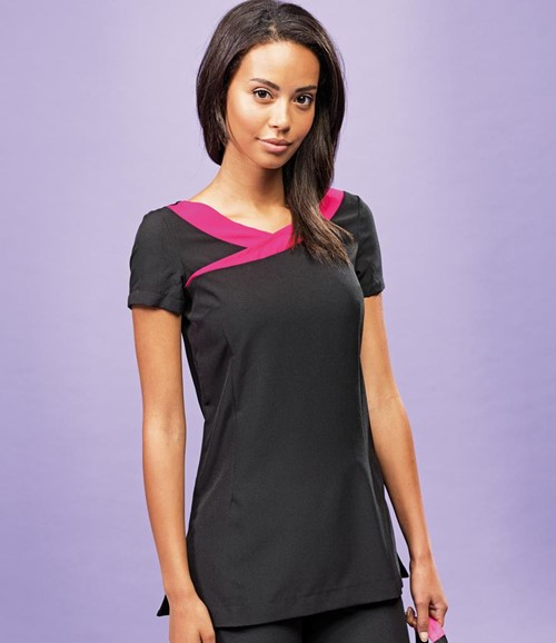 Ladies Ivy Short Sleeve Tunic