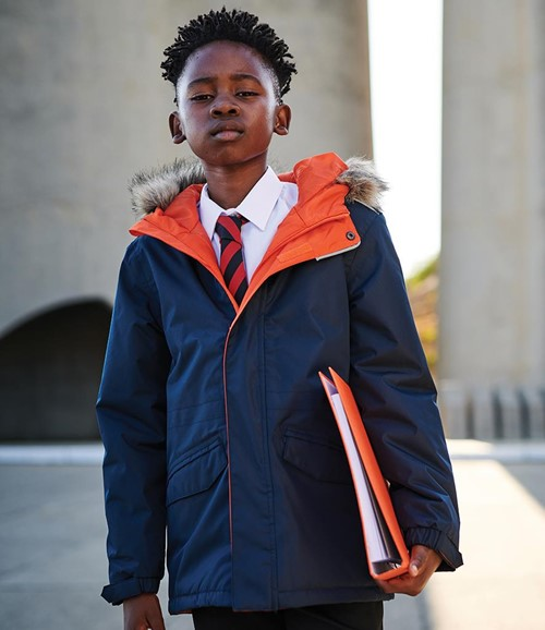 Kids Cadet Insulated Parka Jacket