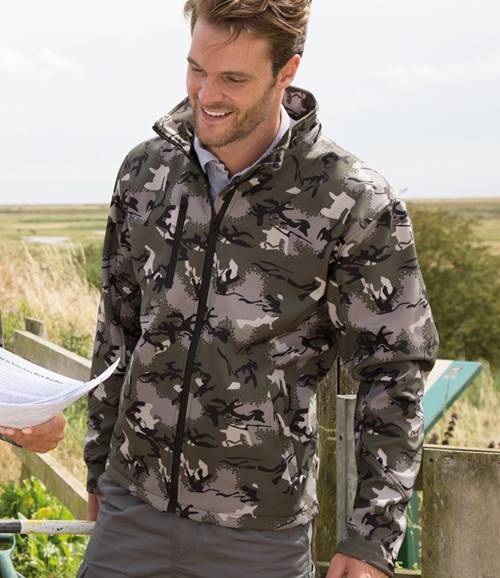 Camo TX Performance Soft Shell Jacket