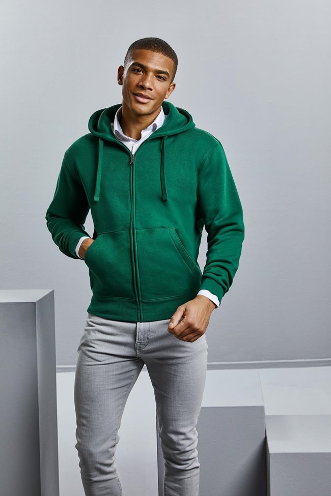 Men's Authentic Zipped Hood Jacket