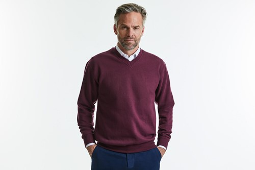 V-Neck Sweatshirt