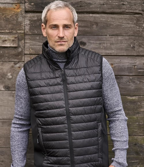 Crossover Padded Bodywarmer