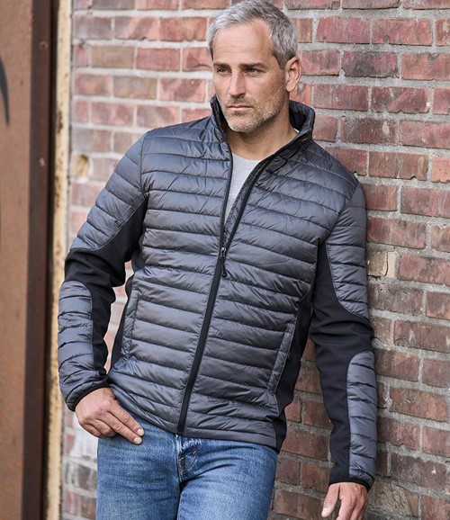 Crossover Padded Jacket